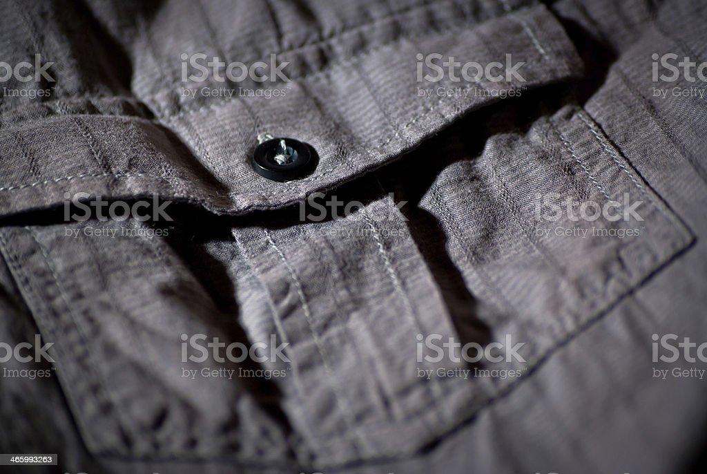 Shirt pocket royalty-free stock photo