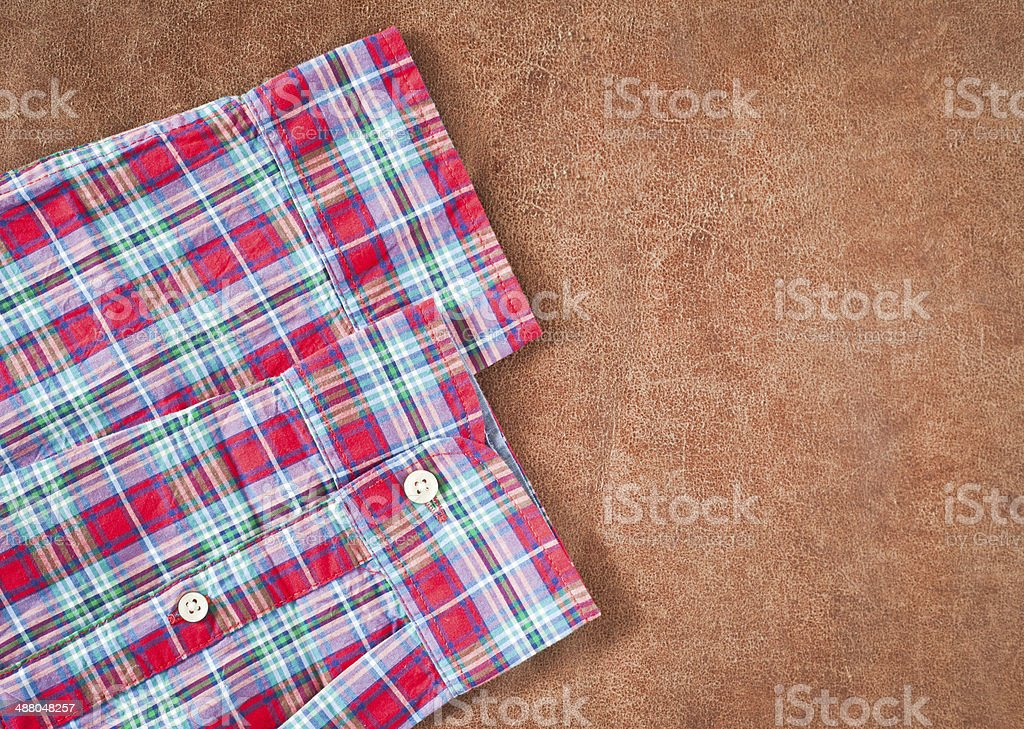 Shirt sleeves stock photo