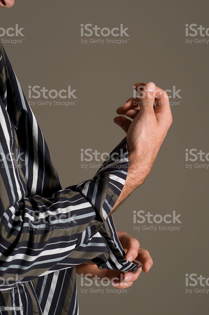 Shirt sleeves royalty-free stock photo