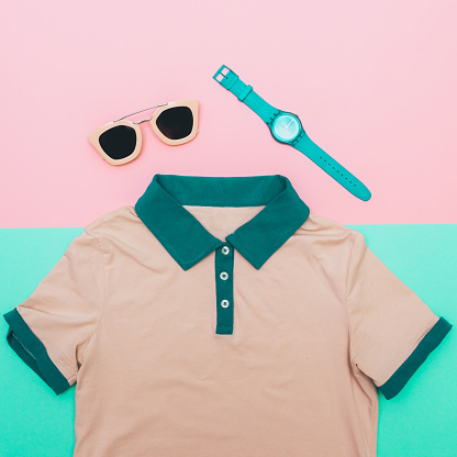 640200626 istock photo shirt with sunglasses and watches 640200500