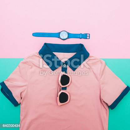 640200626istockphoto shirt with watches and glasses. 640200434