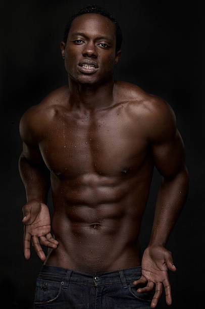 Best Naked Sexy Black Men Stock Photos, Pictures  Royalty -6683