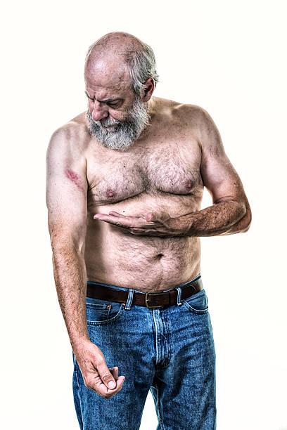 Behaarte Alte Männer