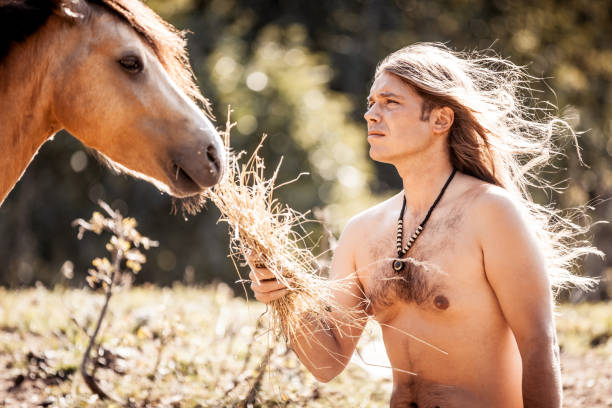 Top Naked Men On Horses Stock Photos, Pictures And Images - Istock-4446