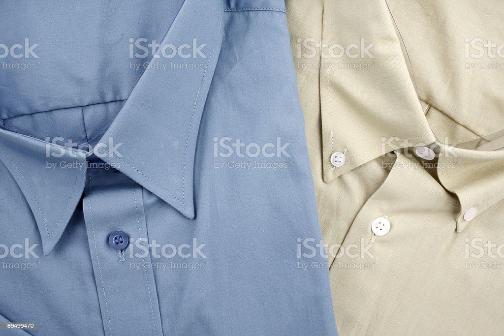 Camicie e foto stock royalty-free