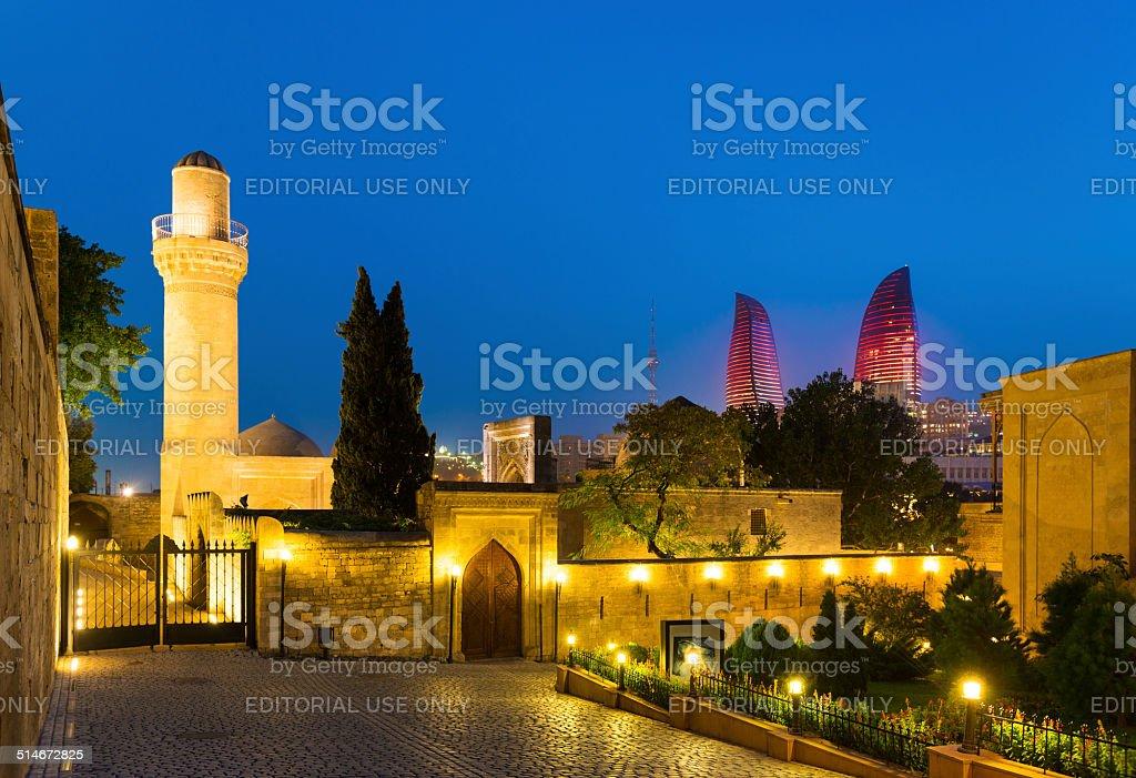Shirvan shakir's Palace stock photo
