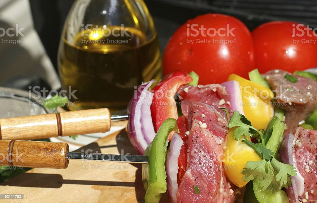 Shish Kebab III royalty-free stock photo
