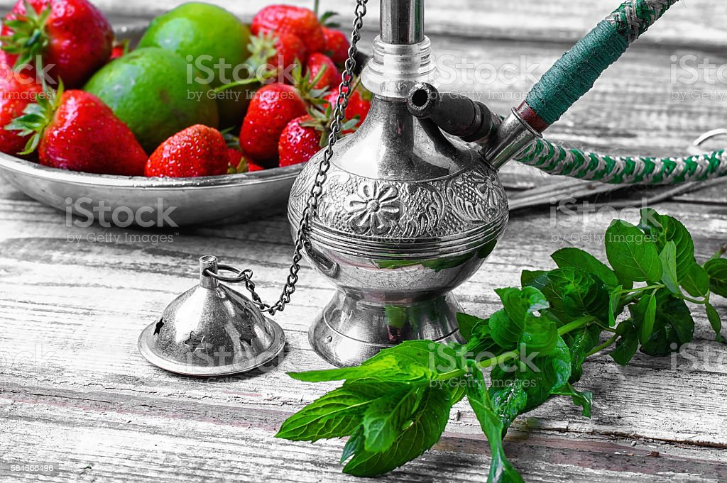 Shisha fruity aroma stock photo