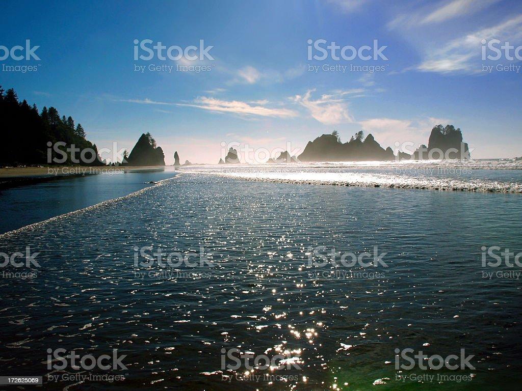 ShiShi Beach 4 royalty-free stock photo