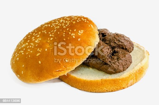 A shit burger. Fast food is a garbage concept