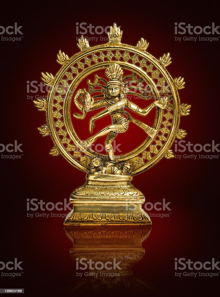 Shiva design stock photo