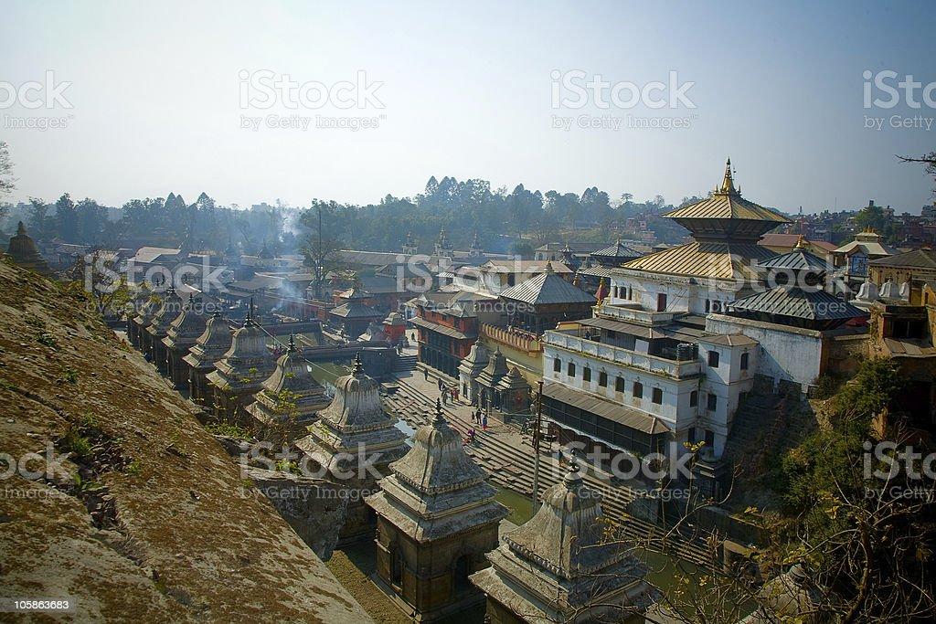 Shiva Parbati temple stock photo