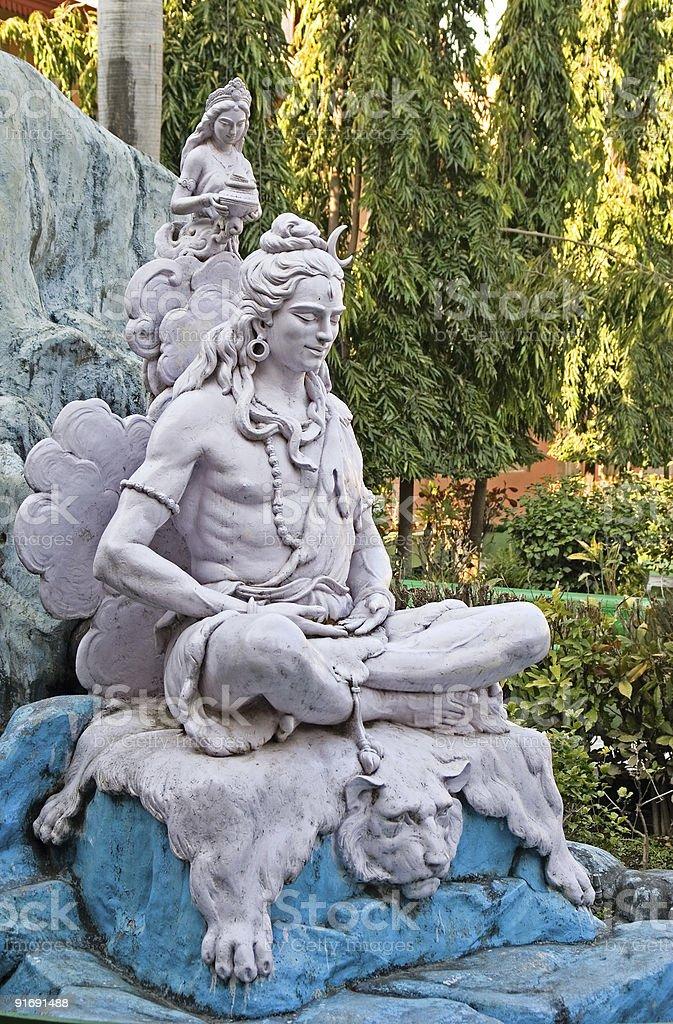Shiva royalty-free stock photo