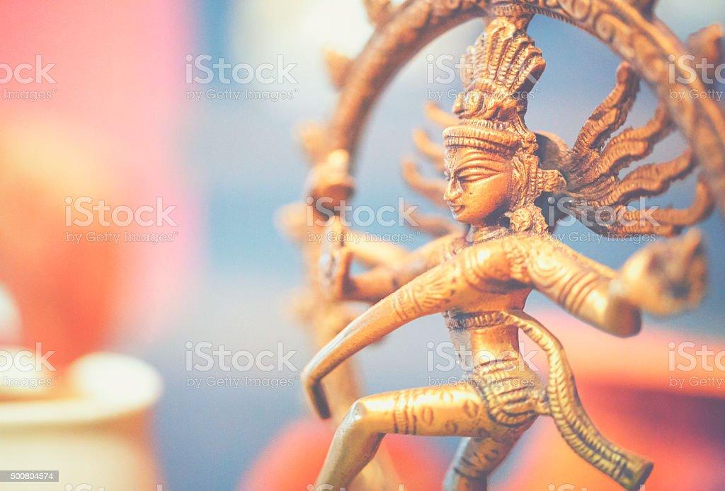 Shiva sculpture stock photo