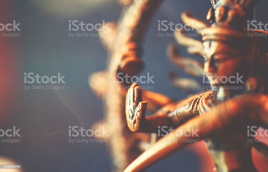 Shiva sculpture stock photo