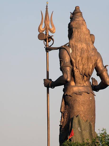 Estátua de shiva - foto de acervo