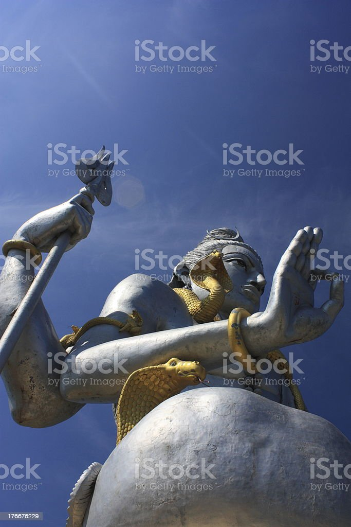 Shiva Statue royalty-free stock photo