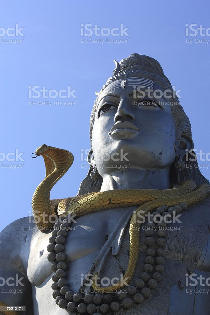 Shiva Statue royalty-free stock photo