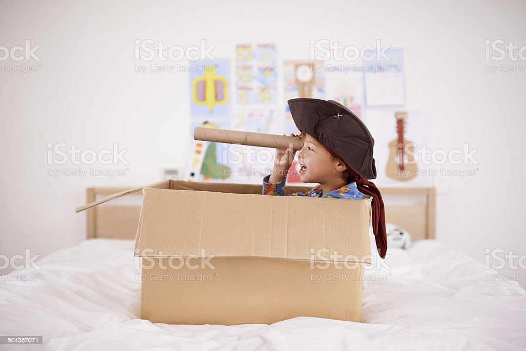 Shiver me timbers! stock photo