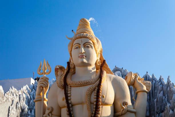 Shivoham Shiva Temple in Bangalore stock photo