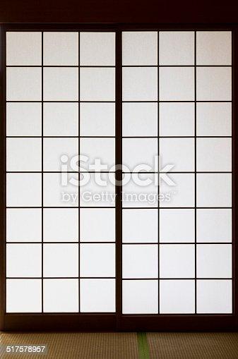 Japanese shōji doors