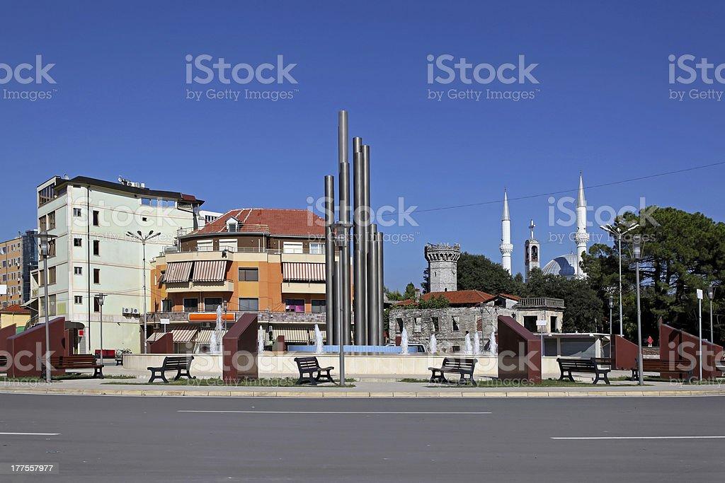 Shkoder Albania stock photo