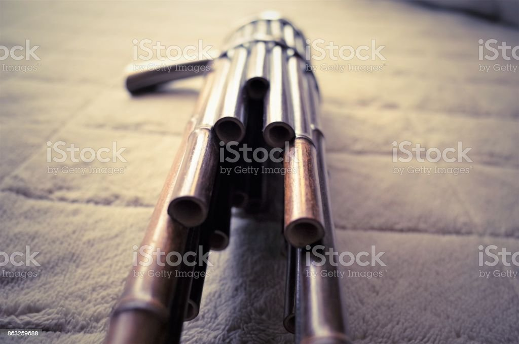 sho sheng traditional japanese wind instrument resembling panpipes