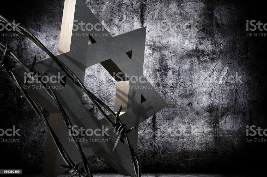 Shoah Day Memorial stock photo