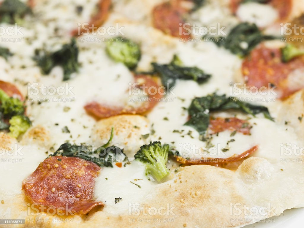 Shock Pizza stock photo