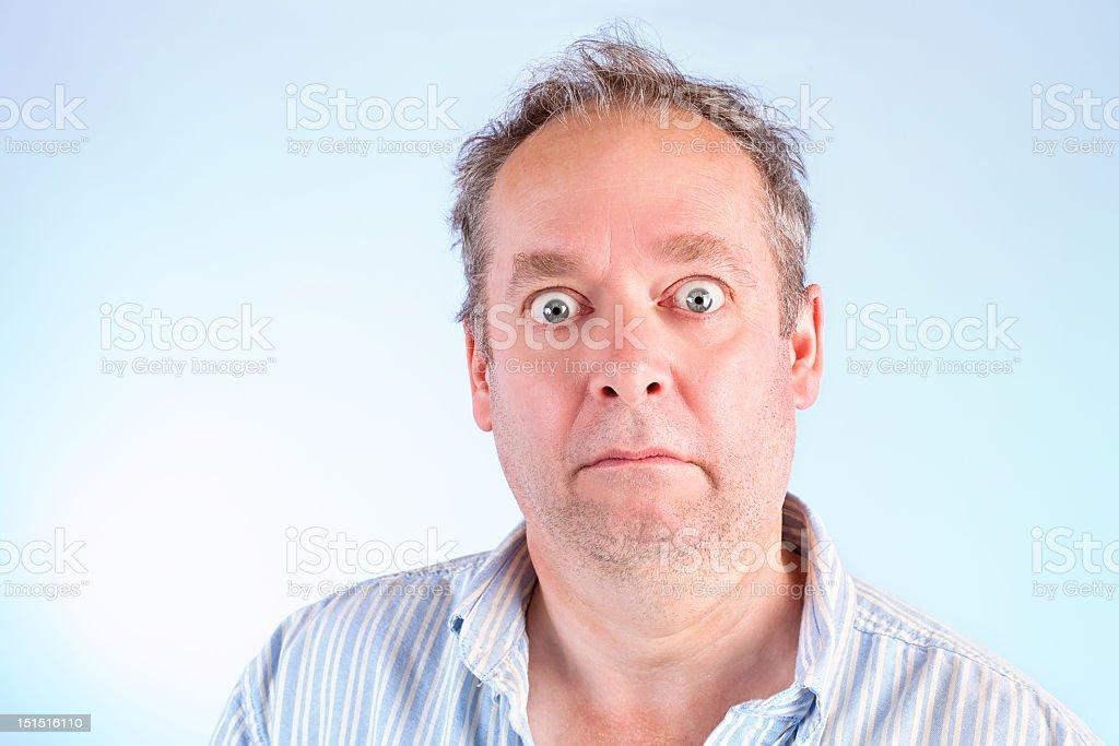 Shocked and Speechless stock photo