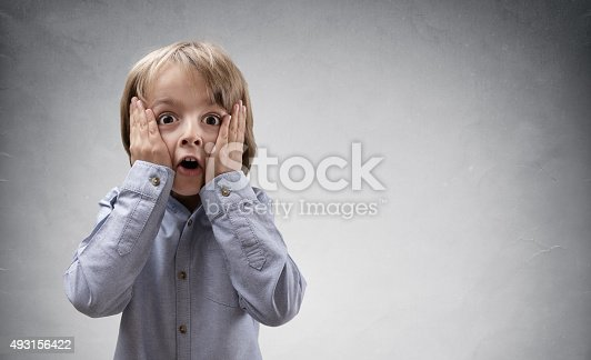istock Shocked and surprised child 493156422