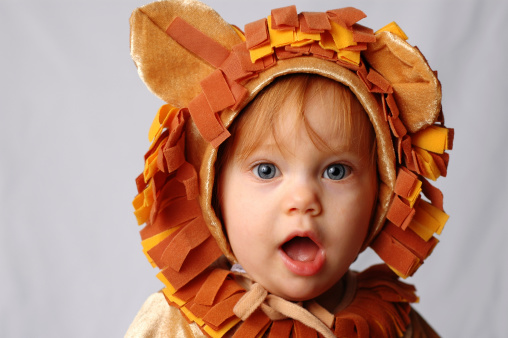 Shocked Little Lion Stock Photo - Download Image Now
