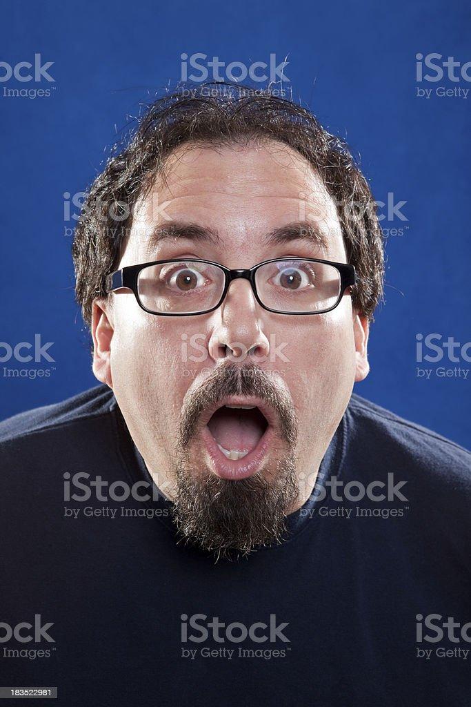 Schockiert Mann – Foto