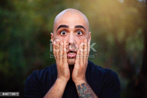 istock Shocked Man 846773872