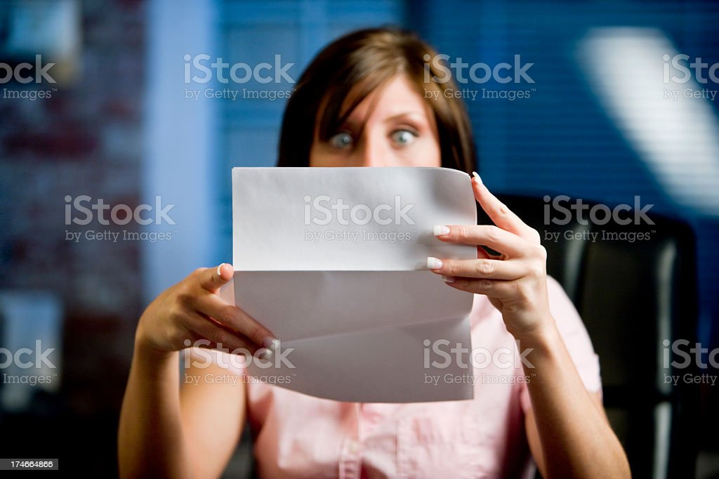 Shocked stock photo