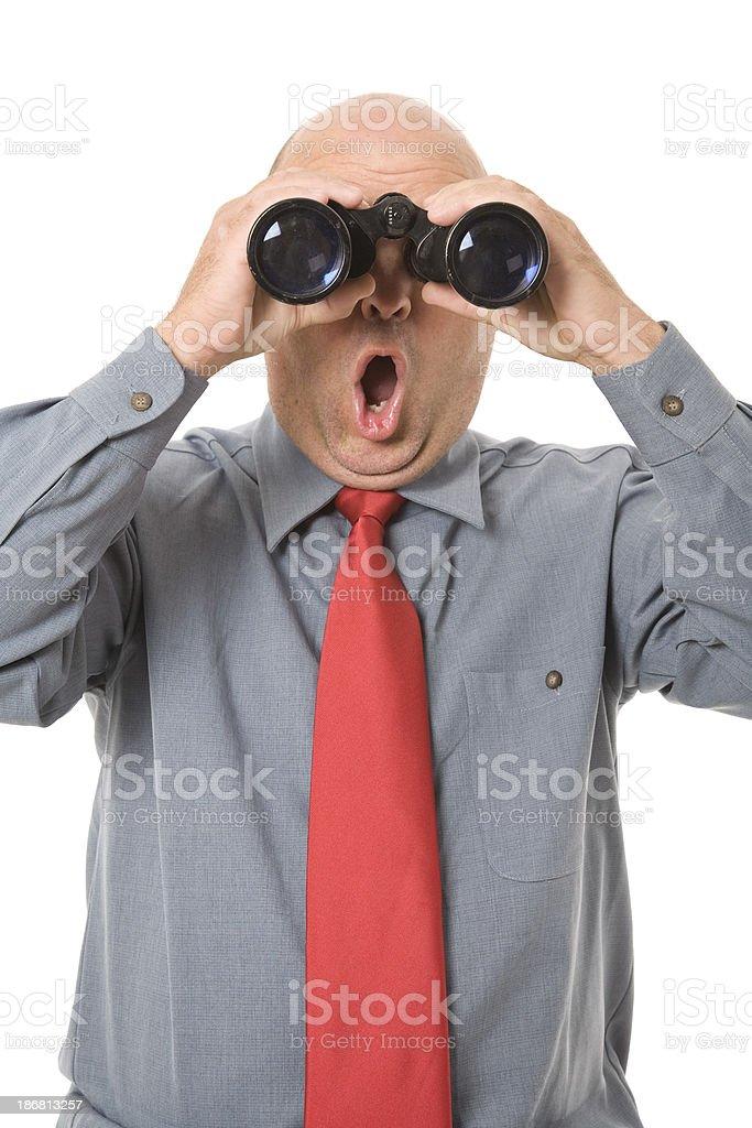 Schockierende Business Lizenzfreies stock-foto