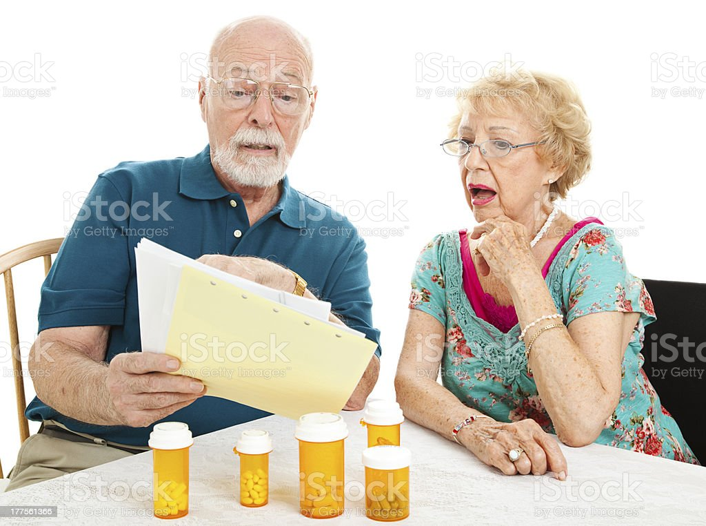 Shocking Cost of Medical Care stock photo