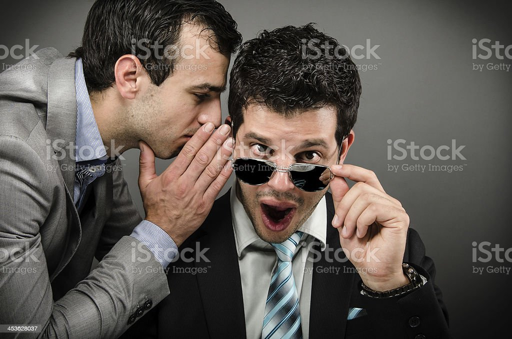 Shocking News stock photo