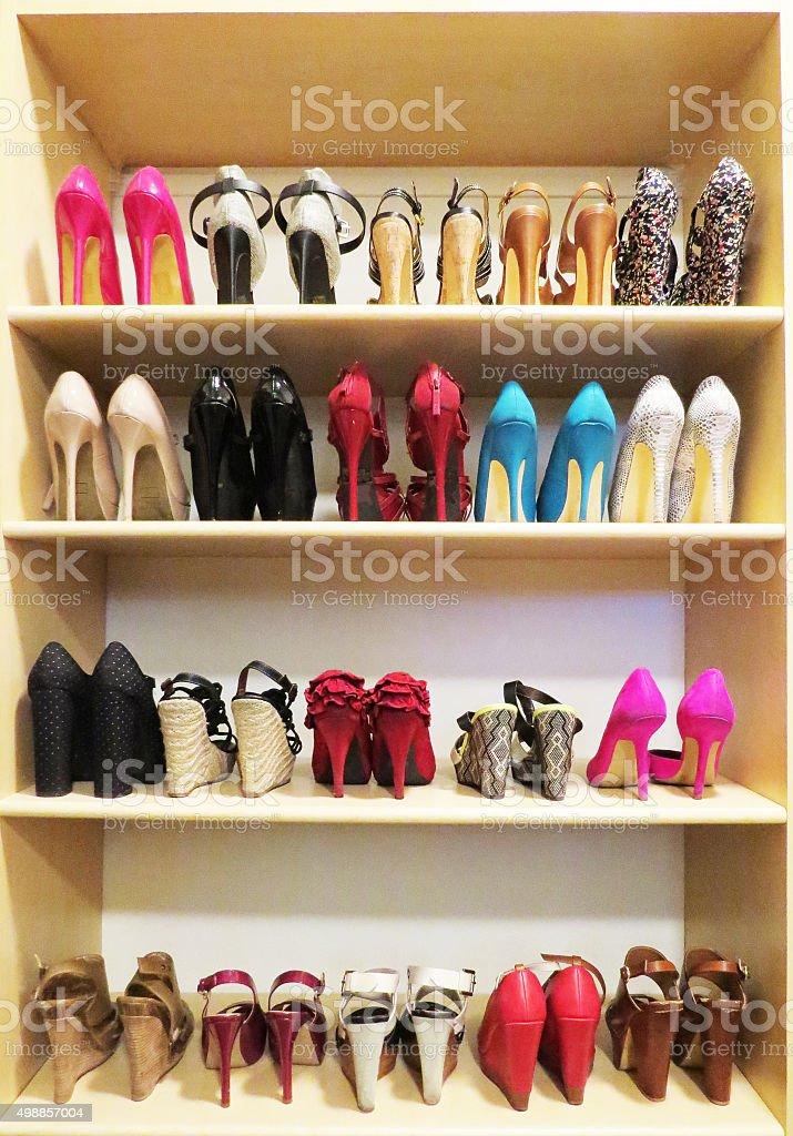 Shoe Addiction stock photo