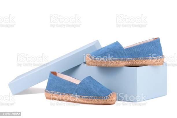 Shoe box and a pair of blue espadrilles picture id1128675855?b=1&k=6&m=1128675855&s=612x612&h=sgxyej1bp84hwjtsyzkbjddsfzix1tlr6cp7sbu7ste=
