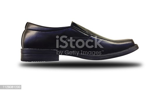 Shoe isolated on white. Clipping path.