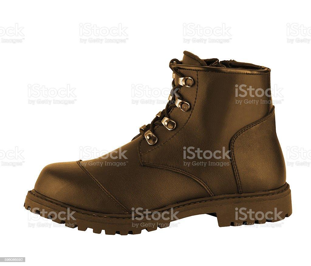 Schuhe, isoliert auf weiss Lizenzfreies stock-foto