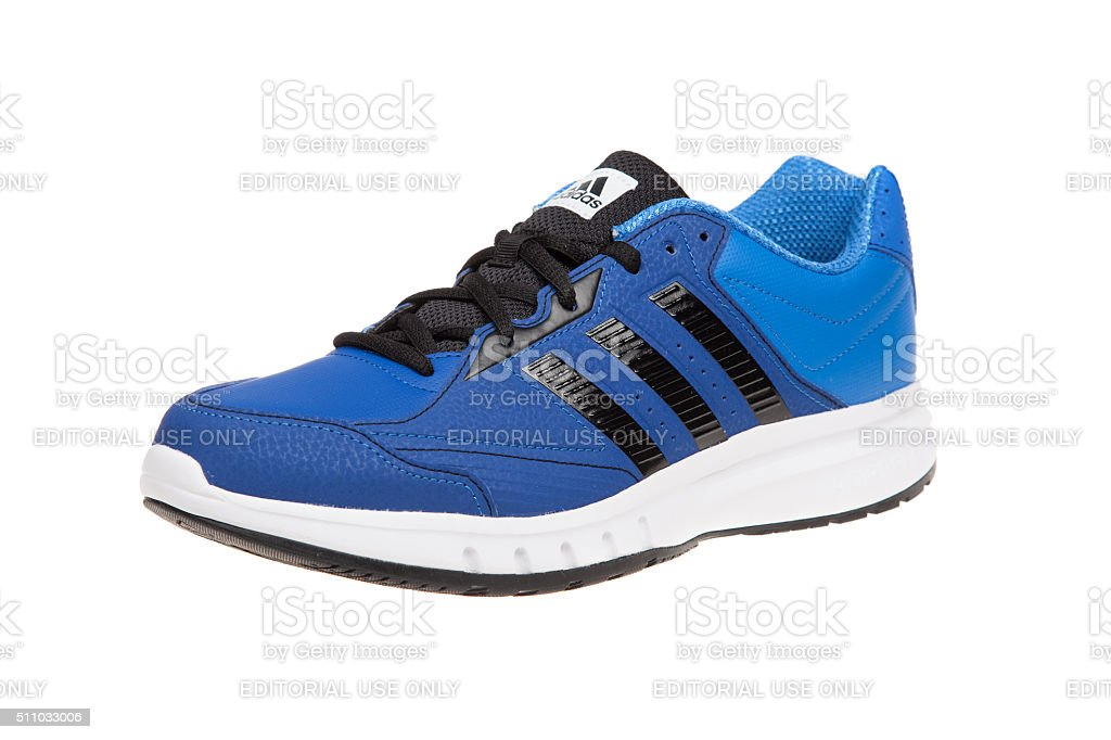 ADIDAS MULTISPORT shoe. Isolated on white. Product shots stock photo