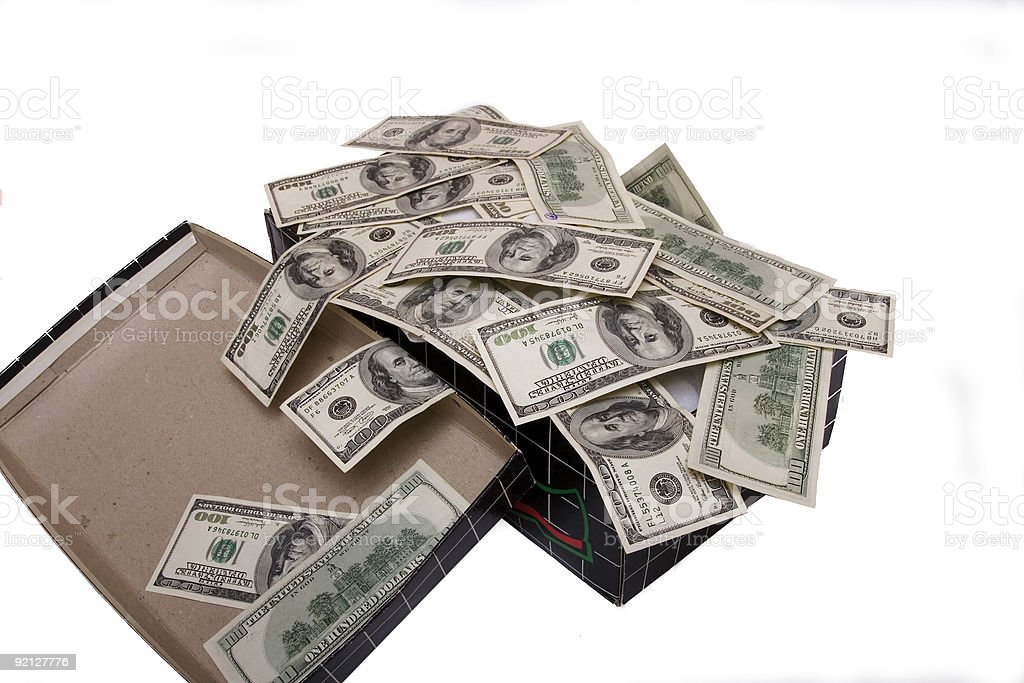 Shoebox Full Of Money.Shoebox Full Of Money Stock Photo Download Image Now Istock