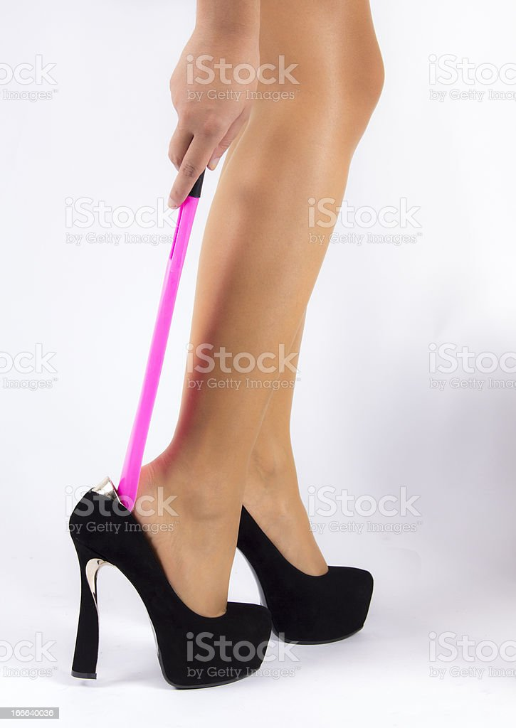 Shoehorn royalty-free stock photo