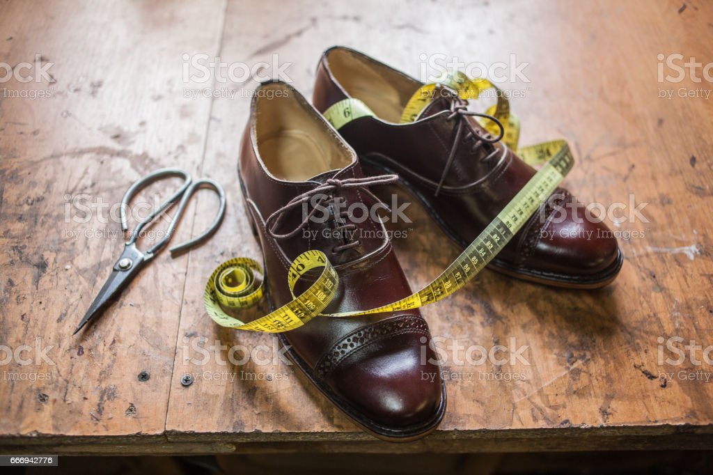 Shoemaking Process Stock Photo - Download Image Now - iStock