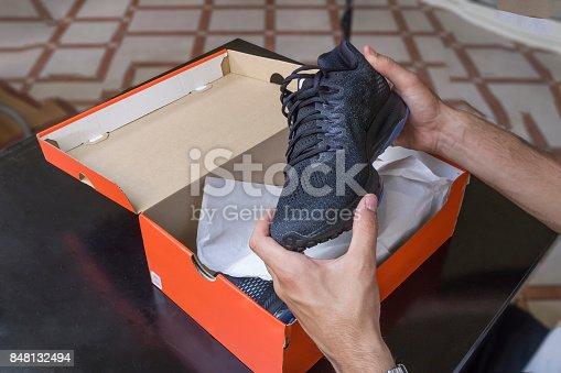 istock Shoes box 848132494