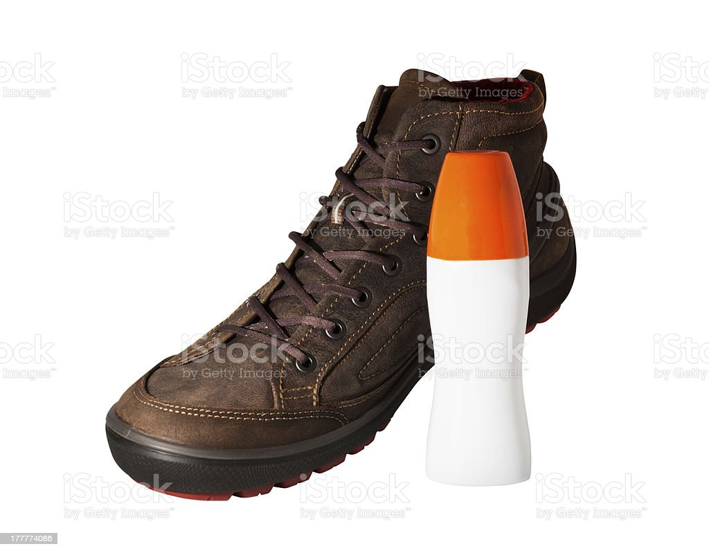 shoes care royalty-free stock photo