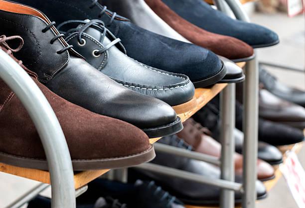 Schuhe für den Verkauf – Foto