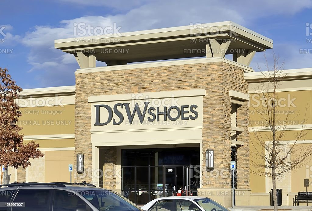 DSW Shoes, Fort Collins royalty-free stock photo